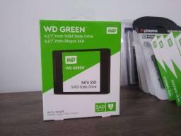 SSD 240 GB Novo! Lacrado! WD Green ou Kingston | Original!