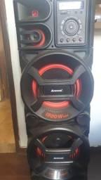 Caixa Amplificada Amvox ACA 1501 New X