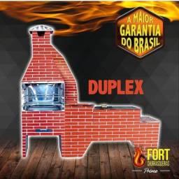 Título do anúncio: Churrasqueira Duplex 18x sem juros