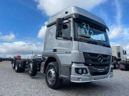 mb atego 3030 8x2 ano 2021  no chassi