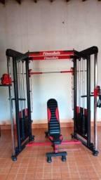 Equipamentos de musculação Fitness Bulls