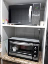 Microndas e forno elétrico