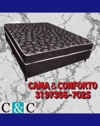 Título do anúncio: .BASE BOX CASAL , CAMA BOX CASAL / SOLTEIRO, FRETE GRÁTIS.