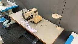 Máquinas de Costura Caseadeira Lanmax e Botoneira JUKI Semi Novas