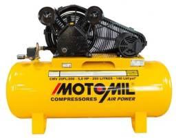 Título do anúncio: compressor air motomil power trif.220/380v ref.: cmv-20pl/200