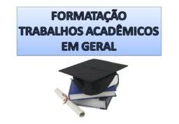 Título do anúncio: Formatação, digitação e revisão de trabalhos acadêmicos ABNT