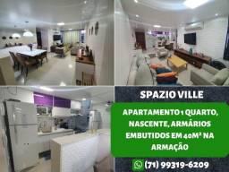 Título do anúncio: Spazio Ville, 2 quartos, suíte e 70m² com 2 vagas de garagem na Pituba - Oportunidade