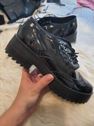 Sapato em couro boterro feminino 37