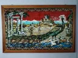 Quadro feito com tapete medida 1,71 x 1,12