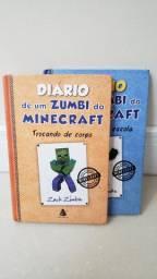 Livro infantil Diario de um Zumbi do Minecraft