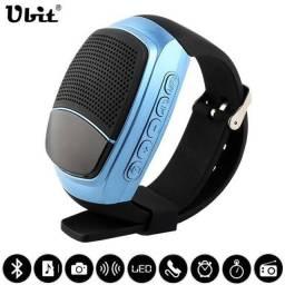 Título do anúncio: Caixa De Som Bluetooth Tipo Relógio Recarregável V8