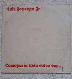 Título do anúncio: LP Vinil Luiz Gonzaga Jr - Começaria Tudo Outra Vez
