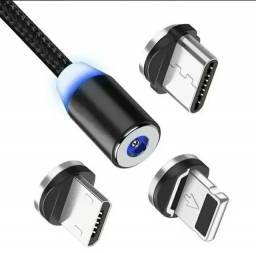 Cabo magnético USB para tipo C Lightning MICRO usb