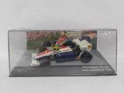 TOLEMAN TG184 1984 AYRTON SENNA - GREAT BRITAIN GP ESCALA 1/43 R$199.
