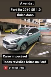 Título do anúncio: Ford Ka se 2019 impecável