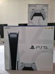PS5 NOVO + 1 CONTROLE EXTRA DUAL SENSE NOVO