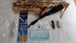 Sax Tenor Jupiter Jts 587 Seminovo