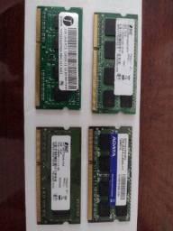 Título do anúncio: Lote Ram Notebook DDR3