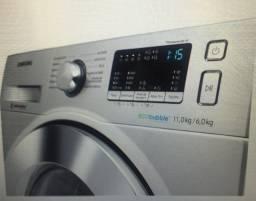 Lava e Seca Samsung 11Kg Prata - 12 Programas de Lavagem
