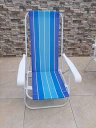 Título do anúncio: Cadeira de praia 2 posições