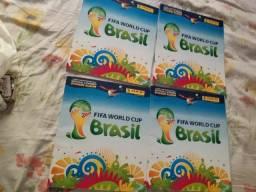 Vende_ se  álbum  da copa no Brasil vazio 4 unidade