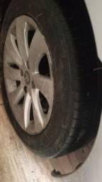 Jogo de rodas aro 16 com pneus original citroen