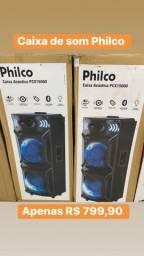 Caixas de som Philco novas sem uso