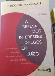 A defesa dos interesses difusos em juízo