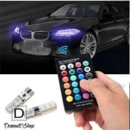 Lâmpadas Pingo Led T10 Controle Remoto RGB - Par