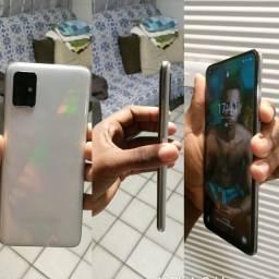 Título do anúncio: Samsung A51 COM CAIXA E NOTA FISCAL