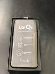 Smartphone LG Q6 M700TV NOVO ATÉ AMANHÃ