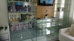 Vendo estante de vidro