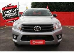 Toyota Hilux cabine dupla 4x4 Diesel - 2017