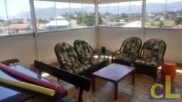 Linda cobertura de 3 quartos toda mobiliada em Itaguaí