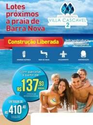 Lotes em Cascavel/ Villa Cascavel 2. Entrada R$ 410,00