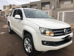 Vendo Amarok 2.0 highline 4x4 CD 16v turbo intercooler, diesel 4P automatico - 2015