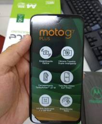 Moto G7 Plus 64GB Lacrado+Nota Fiscal.