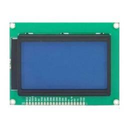 Display Lcd Gráfico 128x64 Backlight Verde/Azul