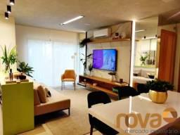 Apartamento à venda com 2 dormitórios em Setor bueno, Goiânia cod:NOV235680