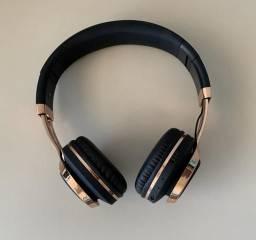 Fone Bluetooth Rosê Gold