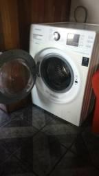 Maquina de lavar sansung eco bubble lava e seca