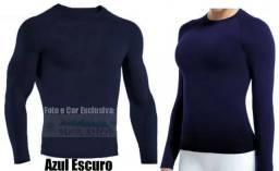 (Qualidade e Conforto)Camisa Térmica Segunda Pele Praia 1b7fd442ec749