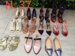 Calçados femininos novos e semi