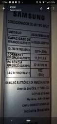 Ar condicionado Samsung 24000 btu 220v