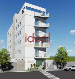 Apartamento à venda, 2 quartos, 1 suíte, 1 vaga, Lourdes - Viçosa/MG