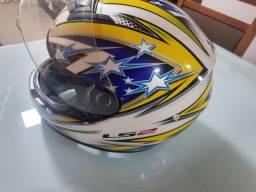 Vendo capacete Ls2 Patriot semi novo