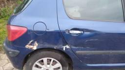 Carro Peugeot 307, 1.6 ano 2005