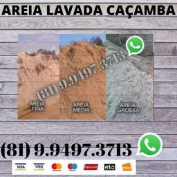 Caçamba de Areia Lavada Direto do Areeiro 34547011