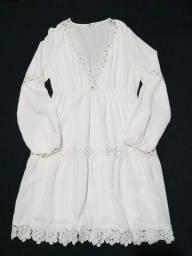 Vestido Branco Impecável M