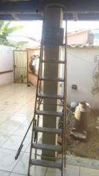 Escada alumínio 2,20 ótimo estado